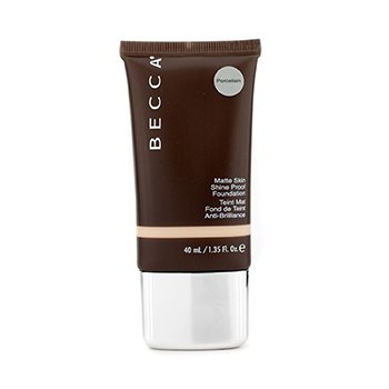 Becca รองพื้น Matte Skin Shine Proof - # Porcelain