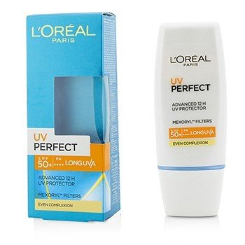 LOreal กันแดดปกป้องผิว Dermo-Expertise UV Perfect 12H LongLasting UVA/UVBSPF50+/PA+++ - #Even Complexion