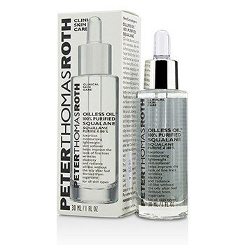 Peter Thomas Roth มอยซ์เจอร์ไรเซอร์บำรุงผิวนุ่ม Oilless Oil 100% Purified Squalane