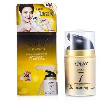 Olay บำรุงกลางวัน Total Effects Touch Of Foundation SPF 15