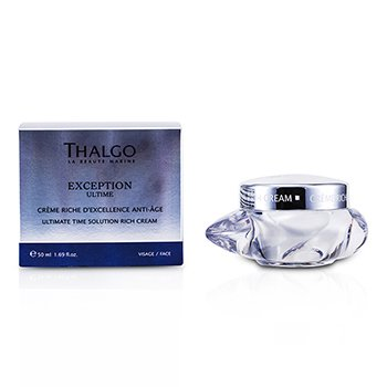Thalgo ครีม Exception Ultime Ultimate Time Solution Rich