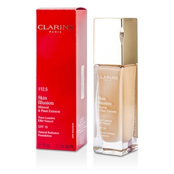 Clarins รองพื้น Skin Illusion Natural Radiance Foundation SPF 10 - # 112.5 Caramel