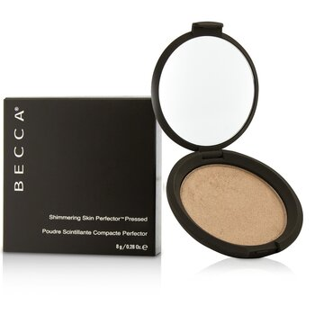 Becca แป้งแต่งหน้า Shimmering Skin Perfector Pressed Powder - # Rose Gold