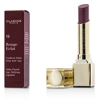 Clarins ลิปสติก Rouge Eclat Satin Finish Age Defying Lipstick - # 16 Candy Rose