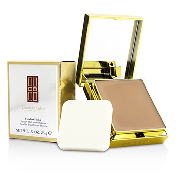 Elizabeth Arden รองพื้น Flawless Finish Sponge On Cream Makeup (ตลับสีทอง) - 50 Softly Beige II