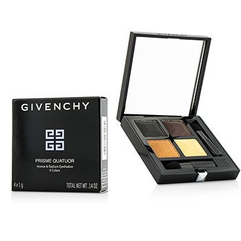 Givenchy อายแชโดว์ Prisme Quatuor 4 Colors Eyeshadow - # 8 Braise