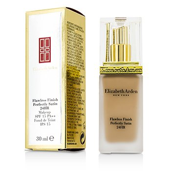 Elizabeth Arden รองพื้น Flawless Finish Perfectly Satin 24HR Makeup SPF15 - #02 Cream Nude
