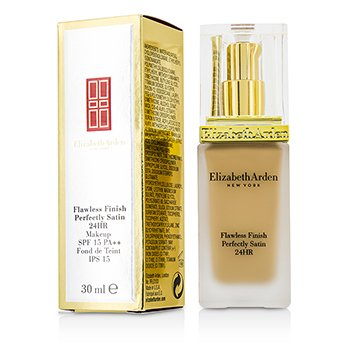 Elizabeth Arden รองพื้น Flawless Finish Perfectly Satin 24HR Makeup SPF15 - #04 Sunbeige