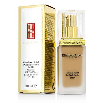 Elizabeth Arden รองพื้น Flawless Finish Perfectly Satin 24HR Makeup SPF15 - #06 Cream