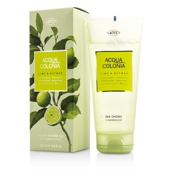 4711 Acqua Colonia Lime & Nutmeg Aroma Shower Gel
