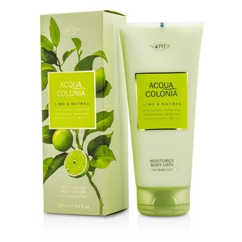 4711 Acqua Colonia Lime & Nutmeg Moisturizing Body Lotion