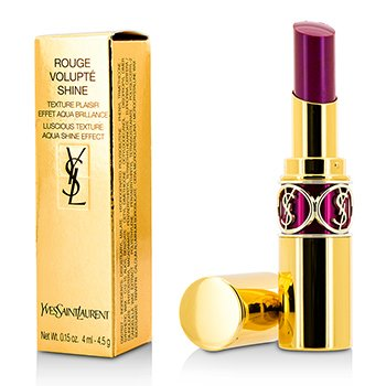 Yves Saint Laurent ลิปสติก Rouge Volupte Shine - # 33 Fuchsia Intense