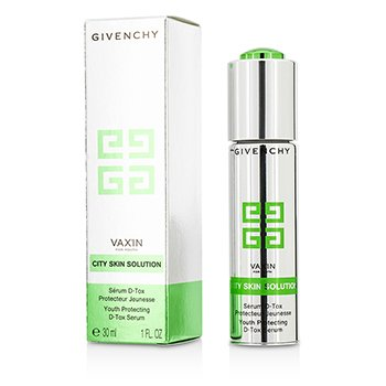 Givenchy เซรั่ม VaxIn For Youth City Skin Solution Youth Protecting D-Tox Serum