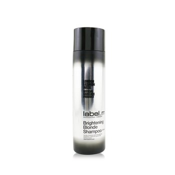 Label M แชมพู Brightening Blonde Shampoo (Gently Cleanses and Strengthens, Brightens Colour For Glistening Blonde Tones)