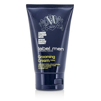 Label M ครีมแต่งผม Mens Grooming Cream (Lightweight Cream, Natural Definition and Control, Nourishes, Builds Thickness and Texture)