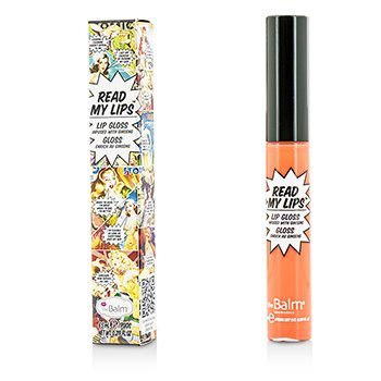 TheBalm ลิปกลอส Read My Lips (Lip Gloss Infused With Ginseng) - #Pop!
