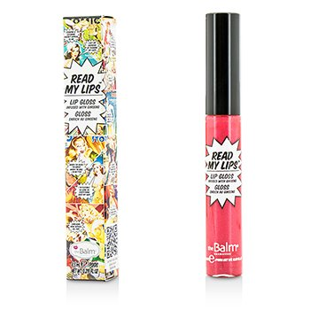 TheBalm ลิปกลอส Read My Lips (Lip Gloss Infused With Ginseng) - #Pow!