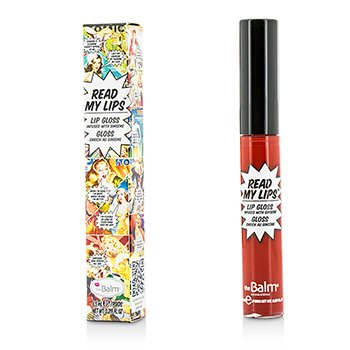 TheBalm ลิปกลอส Read My Lips (Lip Gloss Infused With Ginseng) - #Wow!