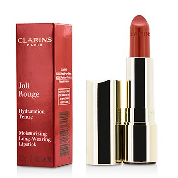 Clarins ลิปสติก Joli Rouge (Long Wearing Moisturizing Lipstick) - # 743 Cherry Red