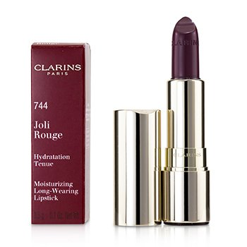 Clarins ลิปสติก Joli Rouge (Long Wearing Moisturizing Lipstick) - # 744 Soft Plum
