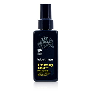 Label M เจลแต่งผม Mens Thickening Tonic (Unique Gel to Liquid Formula Builds Thickness and Definition For Big Matt Styles with Firm Hold)