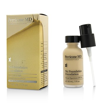 Perricone MD รองพื้น No Foundation Foundation SPF 30 - เบอร์ 1 Fair to Light