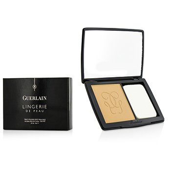 Guerlain แป้งรองพื้น Lingerie De Peau Nude Powder Foundation SPF 20 - # 13 Rose Naturel