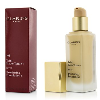 Clarins รองพื้น Everlasting Foundation+ SPF15 - # 108 Sand