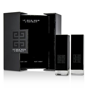 Givenchy Le Soin Noir LExtrait: LExtrait Day Serum 15ml + LExtrait Night Serum 15ml