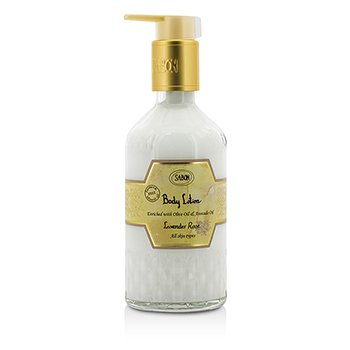 Sabon Body Lotion - Lavender Rose (With Pump)