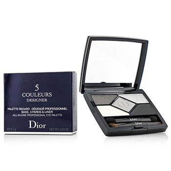คริสเตียน ดิออร์ 5 Color Designer All In One Professional Eye Palette - No. 008 Smoky Design