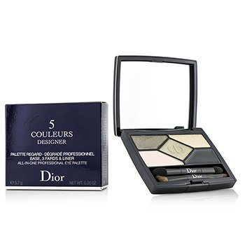 คริสเตียน ดิออร์ 5 Color Designer All In One Professional Eye Palette - No. 308 Khaki Design