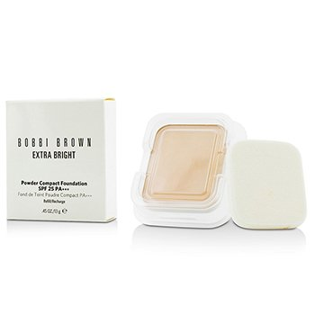 บ๊อบบี้ บราวน์ Extra Bright Powder Compact Foundation SPF 25 Refill - #0 Porcelain
