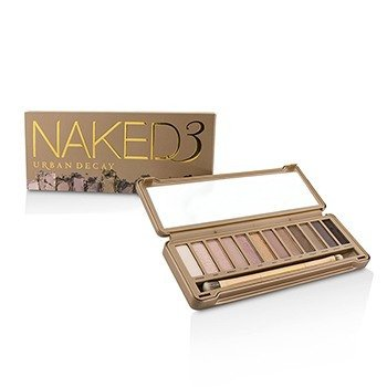 Urban Decay Naked 3 Eyeshadow Palette: 12x Eyeshadow, 1x Doubled Ended Shadow Blending Brush
