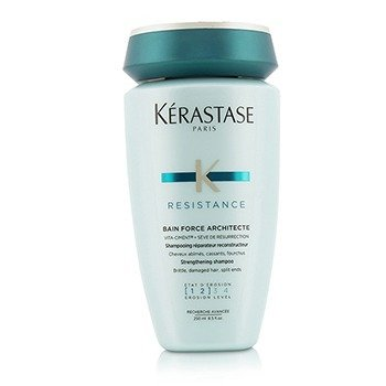 เคเรสตาส Resistance Bain Force Architecte Strengthening Shampoo (For Brittle, Damaged Hair, Split Ends)