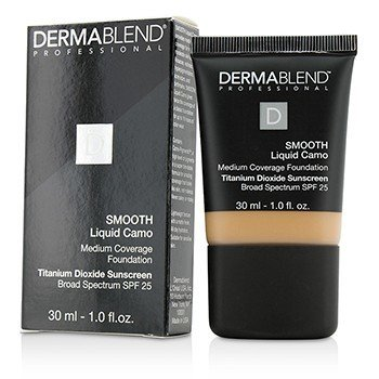 Dermablend Smooth Liquid Camo Foundation SPF 25 (ปกปิดปานกลาง) - Honey Beige (50C)