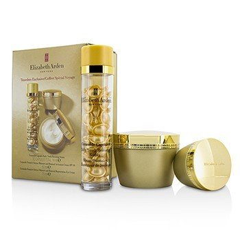 Elizabeth Arden Ceramide Set: Ceramide Capsules Serum 30caps + Ceramide Activation Cream SPF 30 50ml + Ceramide Regeneration Eye Cream 15ml