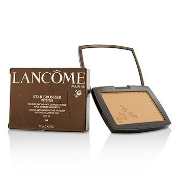 ลังโคม Star Bronzer Intense Long Lasting Bronzing Powder SPF10 (Intense Glowing Tan) - # 04 Eclat Ambre (Box Slightly Damaged)