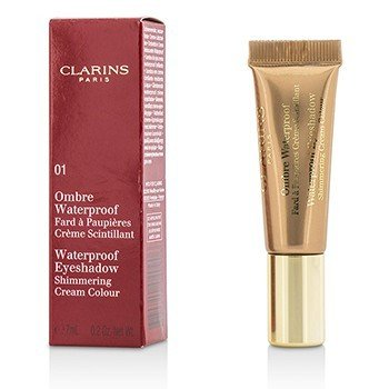 Clarins Ombre Waterproof Eyeshadow Shimmering Cream Colour - #01 Golden