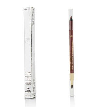 ลังโคม Le Lip Liner Waterproof Lip Pencil With Brush - #290 Sheer Raspberry