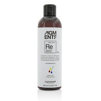 AlfaParf Pigments Reparative Shampoo (For Damaged Hair)