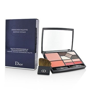 คริสเตียน ดิออร์ Designer Palette Edition Voyage (2x Blush, 5x Eyeshadow, 4x Lip Color, 3x Applicator)