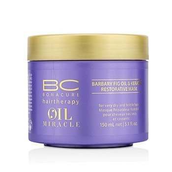 BC Oil Miracle Barbary Fig Oil & Keratin Restorative Mask (For Very Dry and Brittle Hair)