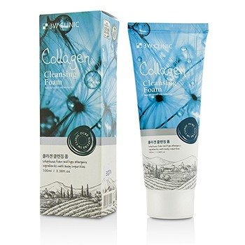 3W Clinic Cleansing Foam - Collagen