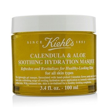 คีลส์ Calendula & Aloe Soothing Hydration Masque - For All Skin Types