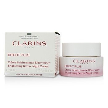 Clarins Bright Plus Brightening Revive Night Cream
