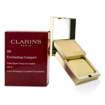 Clarins Everlasting Compact Foundation SPF 9 - # 105 Nude