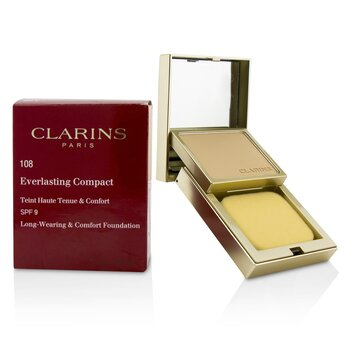Clarins Everlasting Compact Foundation SPF 9 - # 108 Sand