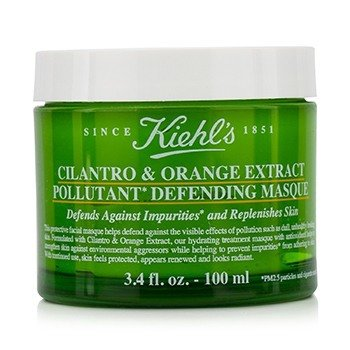 คีลส์ Cilantro & Orange Extract Pollutant Defending Masque