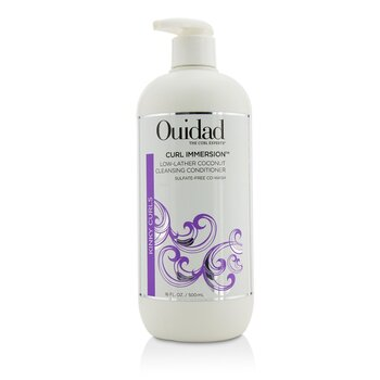 Ouidad Curl Immersion Low-Lather Coconut Cleansing Conditioner (Kinky Curls)